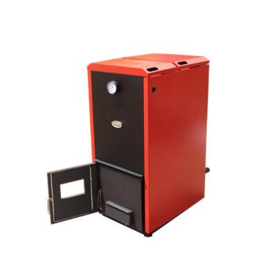 Cazan mixt lemne/peleti 48 kW cu arzator 50kw 2
