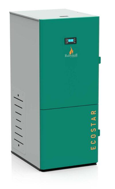 Centrala peleti compacta Mareli Premium RubynoR SBN35 20-35KW -Modul internet si termostat AMB internet 3