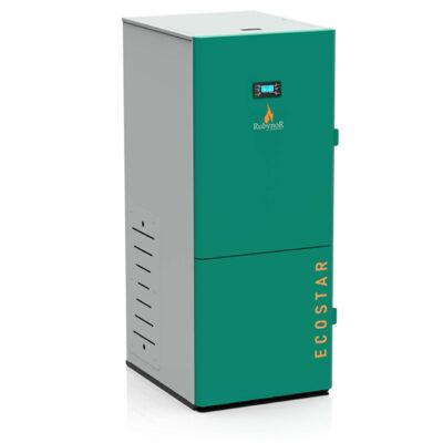 Centrala peleti compacta Mareli Premium RubynoR SBN35 20-35KW -Modul internet si termostat AMB internet 1