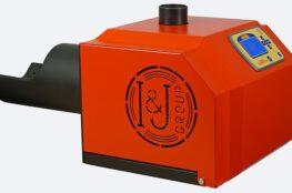 Arzator peleti de floare soarelui Mudlark 50 kW » HomeFort.ro Potcoava 2