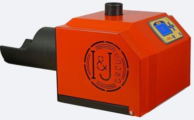 Arzator peleti de floare soarelui Mudlark 35 kW 1