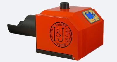 Arzator peleti de floare soarelui Mudlark 35 kW 3
