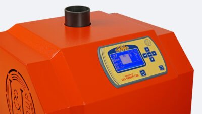 Arzator peleti de floare soarelui Mudlark 35 kW 6