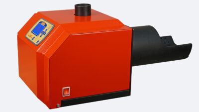 Arzator peleti de floare soarelui Mudlark 50 kW 2